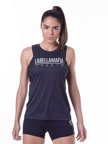 LabellaMafia Essentials LBM Black Tank Top – FBL13910