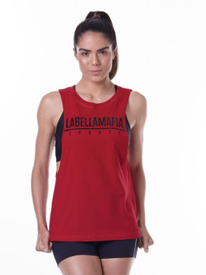 LabellaMafia Essentials LBM Red Tank Top – FBL13889