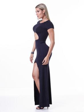 LabellaMafia Dress MVT16059 Glam Rock Power Cutout