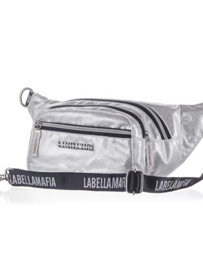 LabellaMafia Glam Rock Silver Bag- PCH31104 Silver