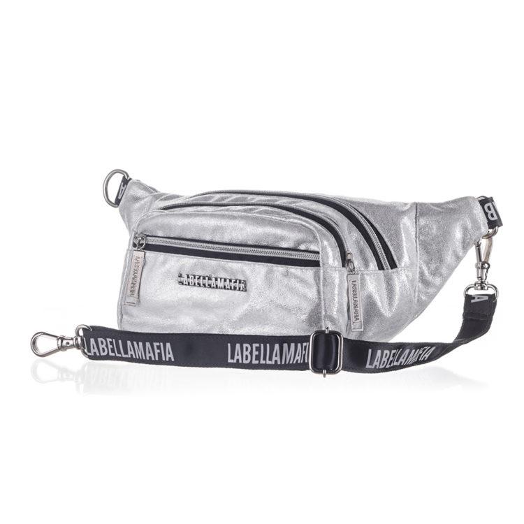LabellaMafia Glam Rock Silver Bag- PCH31104 Silver
