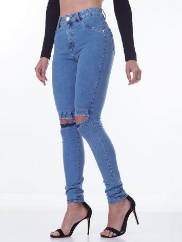 LabellaMafia Knee Details Jeans – CLJ702