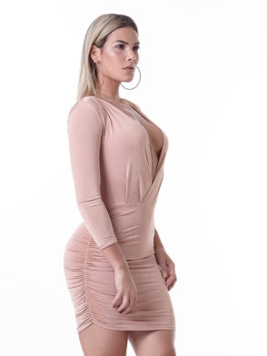 LabellaMafia Dress MVT16112 Pastel Rose