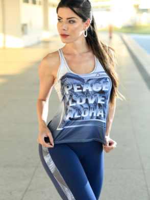 DYNAMITE BRAZIL Tank Top – RF300 – Leader Rose Regatta
