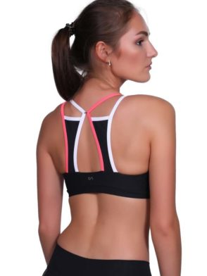 CANOAN  Sports Bra TOP 07771 Black – Sexy Workout Tops