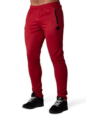 Gorilla Wear Ballinger Track Pants – Red