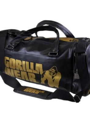 Gorilla Wear Gym Bag – Black/Gold