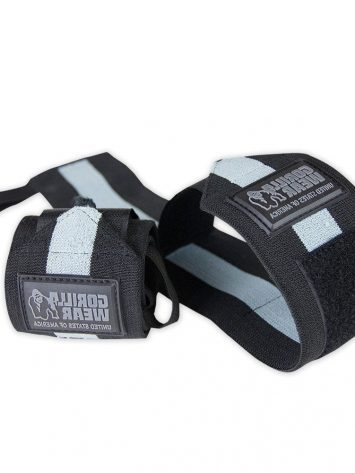 Gorilla Wear Wrist Wraps Ultra Black/Gray
