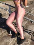 BFB Leggings - Cirre 3D Metalizada - Rose