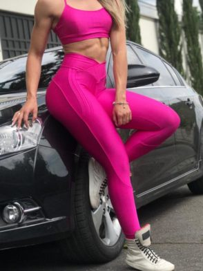 BFB Leggings – Carioca Pants Buttock – Hot Pink