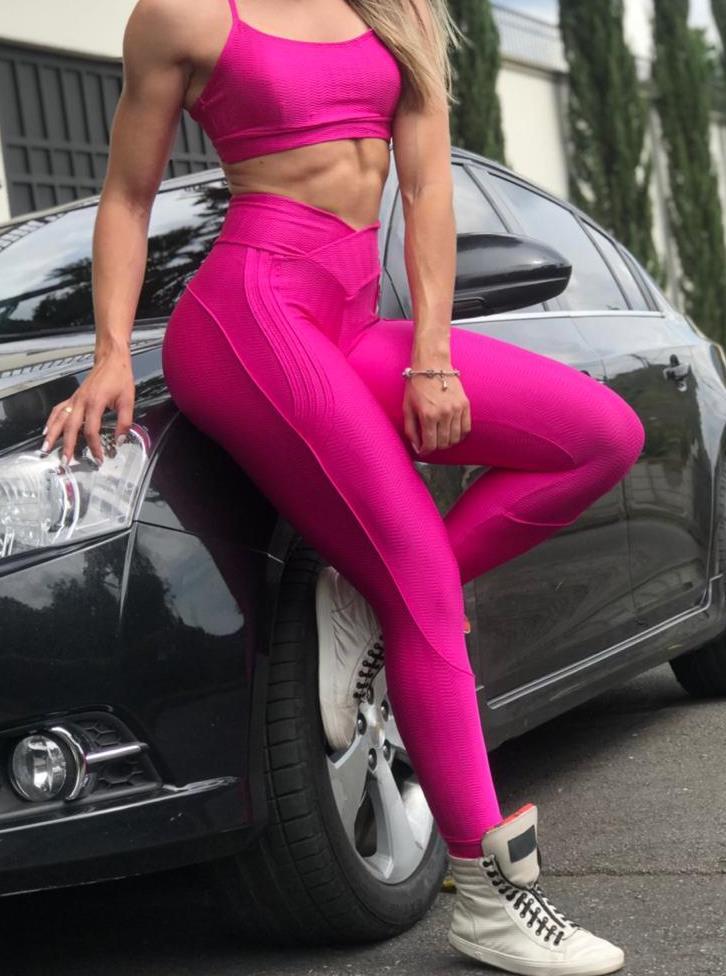 BFB Leggings - Carioca Pants Buttock - Hot Pink