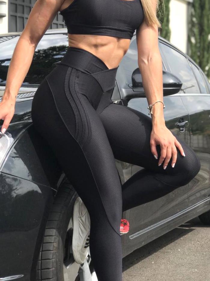 BFB Leggings - Carioca Pants Buttock - Black