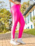 BFB Leggings - Cirre 3D Metalizada - Raspberry Pink