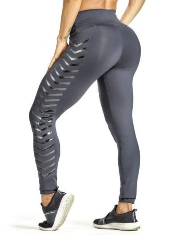 OXYFIT Leggings Arrow 64217 Charcoal – Sexy Workout Leggings