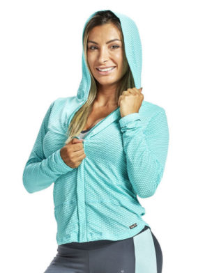 OXYFIT Long Sleeve Jacket Board 38044 Mint – Sexy Sports Mesh