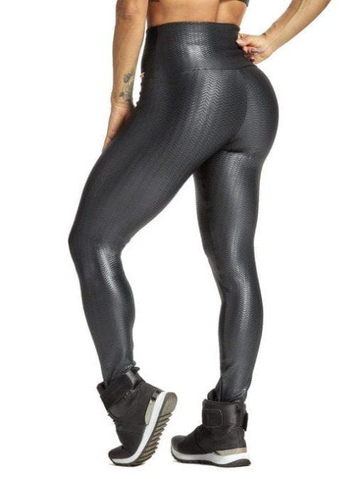OXYFIT Leggings Chevron 64216 Black - Sexy Workout Leggings