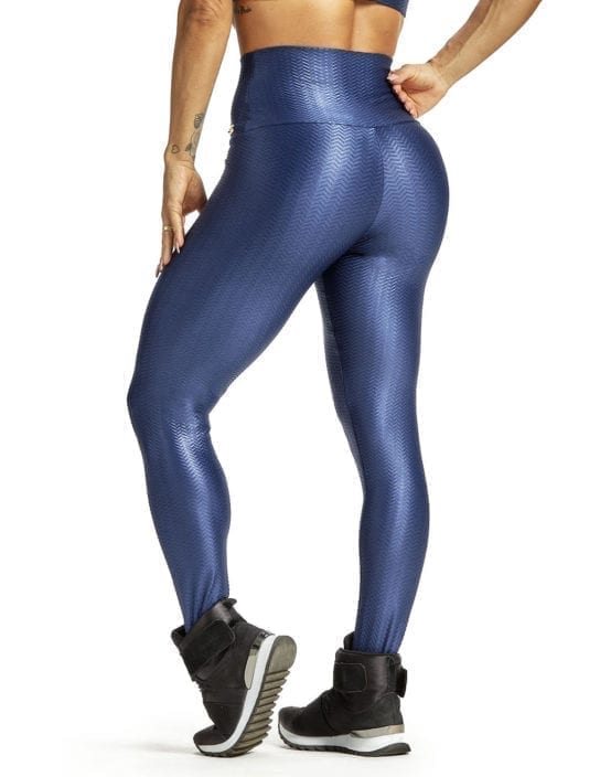OXYFIT Leggings Chevron 64216 Navy - Sexy Workout Leggings