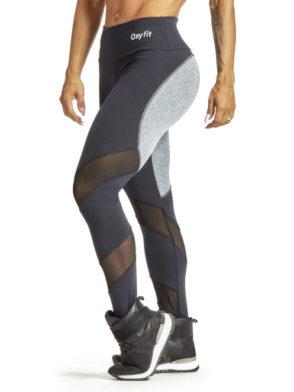 eef1207416f85 OXYFIT Leggings Round 64226 Light Mezcla & Black – Sexy Workout Leggings