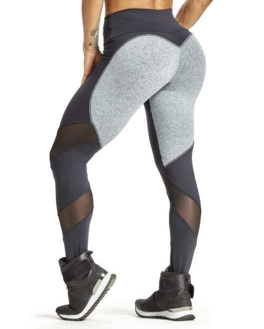 OXYFIT Leggings Round 64226 Light Mezcla & Black - Sexy Workout Leggings