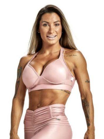 OXYFIT Sports Bra Top Crimpy 27225 Rose Gold – Sexy Sports Bra