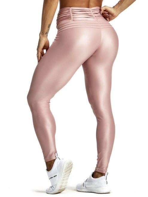 OXYFIT Leggings Crimpy 64221 Rose Gold - Sexy Workout Leggings