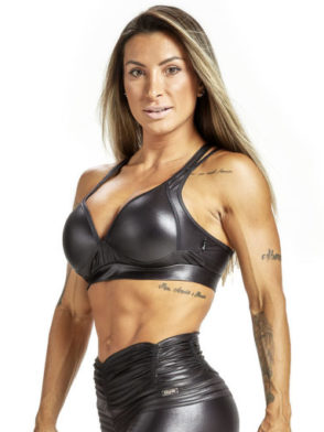 OXYFIT Sports Bra Top Crimpy 27225 Black – Sexy Sports Bra