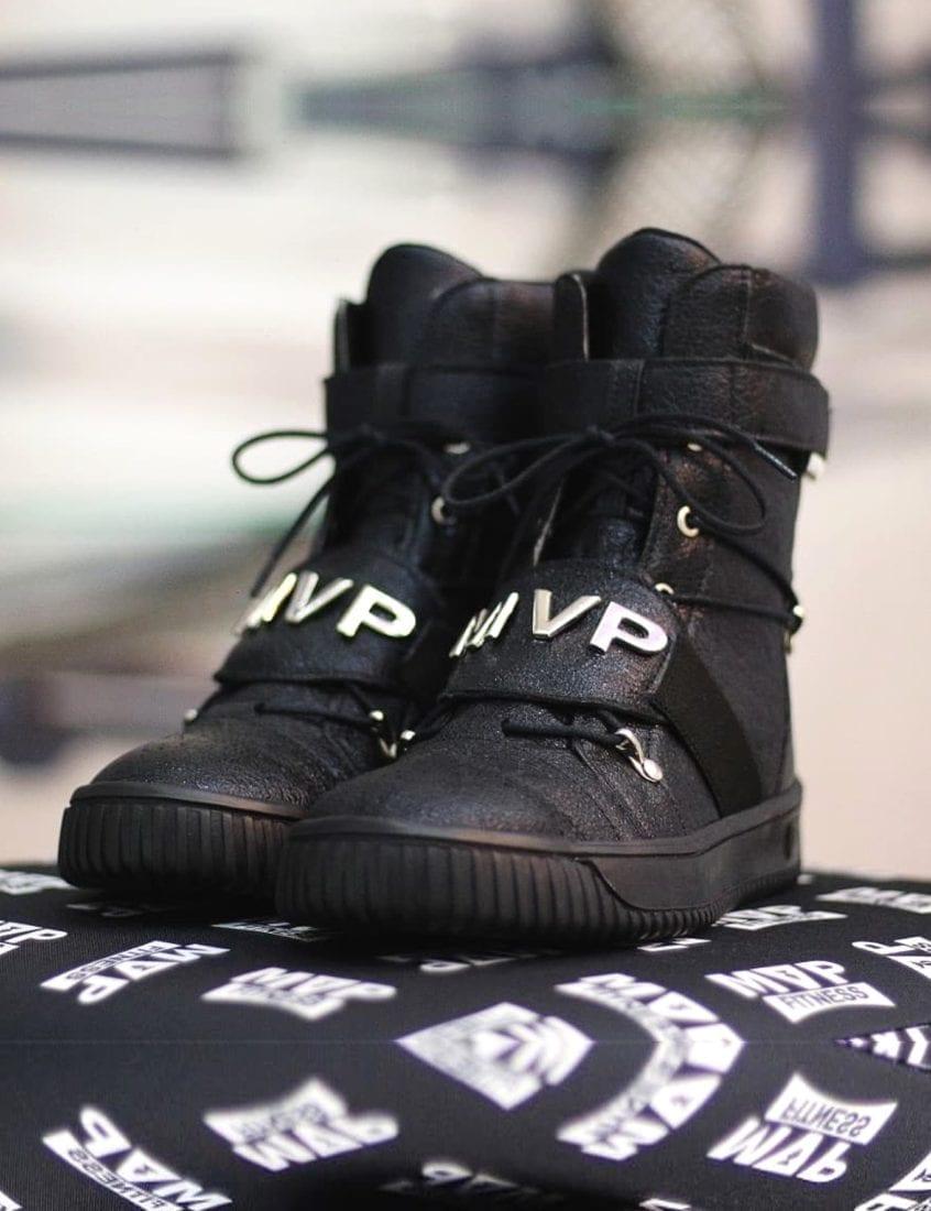 MVP Fitness 70125 Street Hard Tennis Shoes – Black