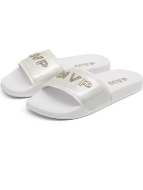 MVP Fitness Chinelo Slide Street MVP Slipper – White