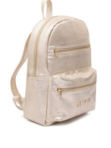MVP Fitness Club Fashion Backpack – Pearl