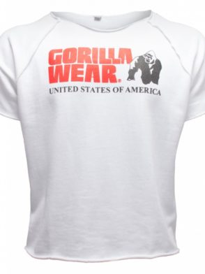 Gorilla Wear Classic Work Out Top – white