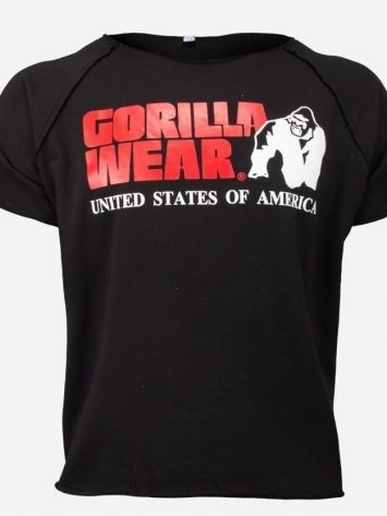 Gorilla Wear Classic Work Out Top – Black