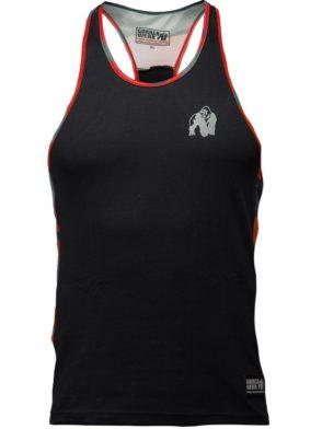 Gorilla Wear Sacramento Camo Mesh Tank Top – Black/Red