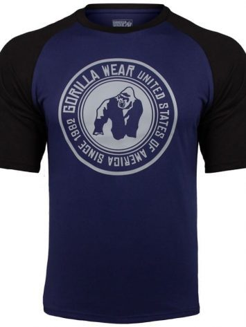 Gorilla Wear Texas T-shirt – Navy-Black