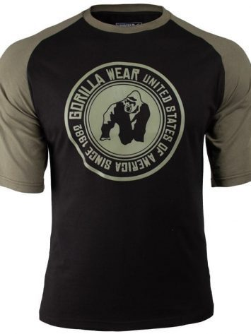 Gorilla Wear Texas T-shirt – Army-Blacky-green-3.png