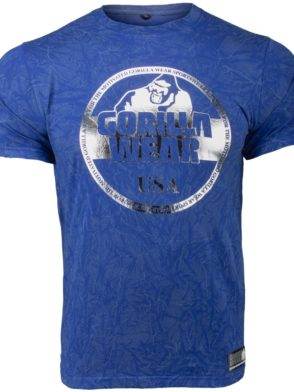 Gorilla Wear Rocklin T-Shirt – blue
