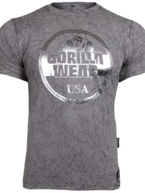 Gorilla Wear Rocklin T-Shirt – Gray