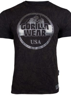 Gorilla Wear Rocklin T-Shirt – black