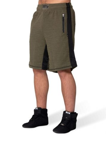 Gorilla Wear Augustine Old School Shorts – Army