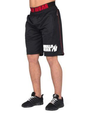 Gorilla Wear California Mesh Shorts Shorts – Black/Red