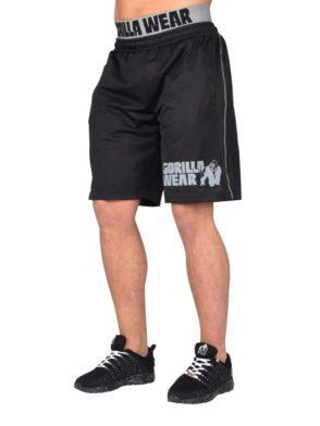 Gorilla Wear California Mesh Shorts Shorts – Black/Gray