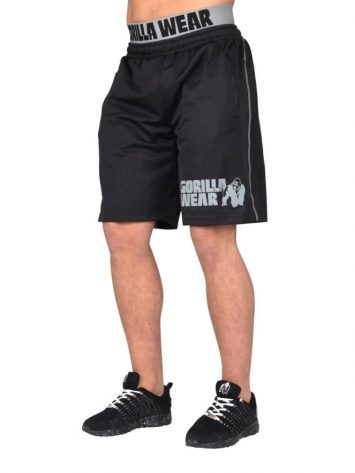 Gorilla Wear California Mesh Shorts Shorts – Black/Gray