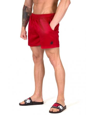 Gorilla Wear Miami Shorts – Red