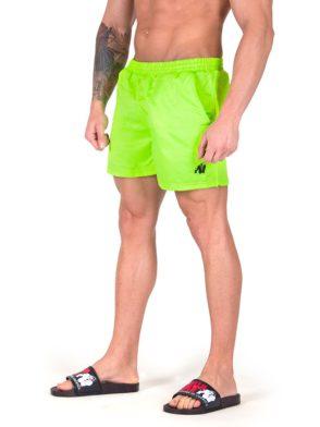 Gorilla Wear Miami Shorts – Neon Lime