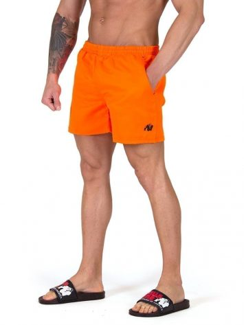 Gorilla Wear Miami Shorts – Orange