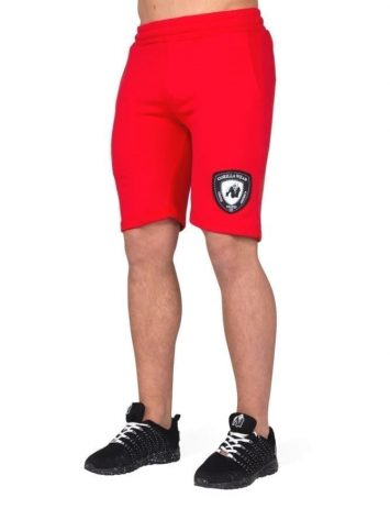 Gorilla Wear Los Angeles Sweat Shorts – Red