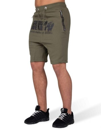 Gorilla Wear Alabama Drop Crotch Shorts – Army