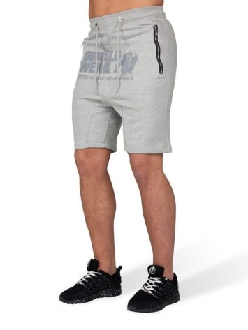 Gorilla Wear Alabama Drop Crotch Shorts – Gray