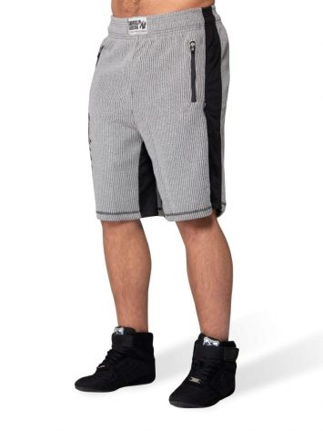 Gorilla Wear Augustine Old School Shorts – Gray