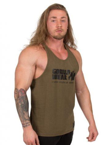 Gorilla Wear Classic Tank Top – Army