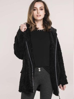 FREDDY WR.UP Jacket – Life Style Inspired – Black Fur